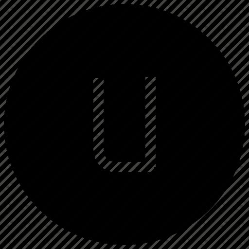 Alphabet, u, abc, font, letter icon - Download on Iconfinder