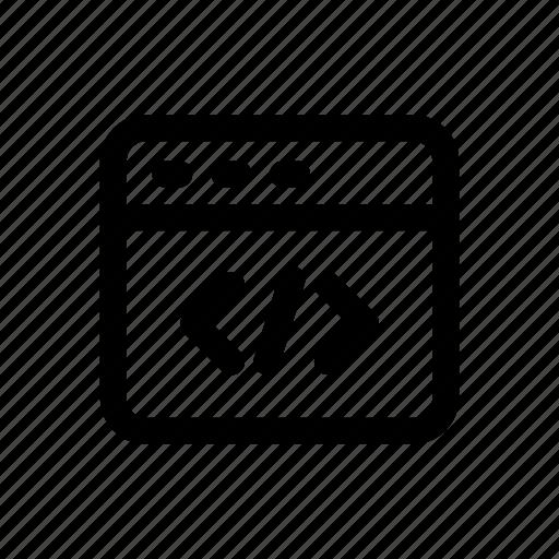 Algorithm, coding, programming, code, development, web icon - Download on Iconfinder