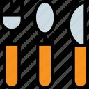 eating, fork, knife, spoon, tool