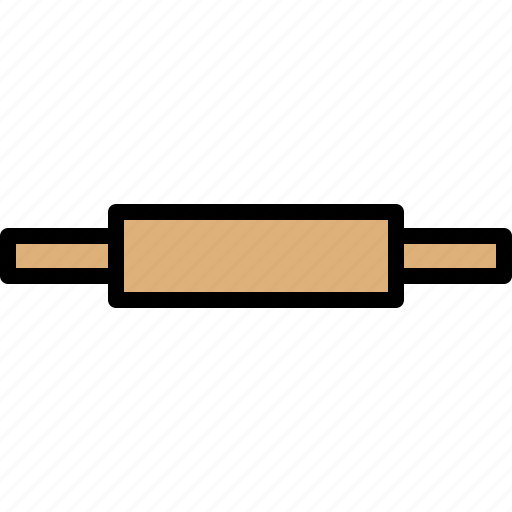 bead, dough, kitchen, roller, tool icon