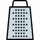 box, grate, grater, kitchen, peeler, slicer, tool icon
