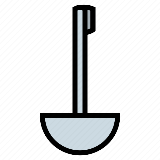 cooking, dipper, kitchen, ladle, spoon, tool icon
