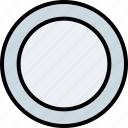 eating, kitchen, plate, utencil icon