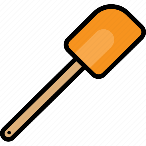cooking, rubber, spatula, tool icon