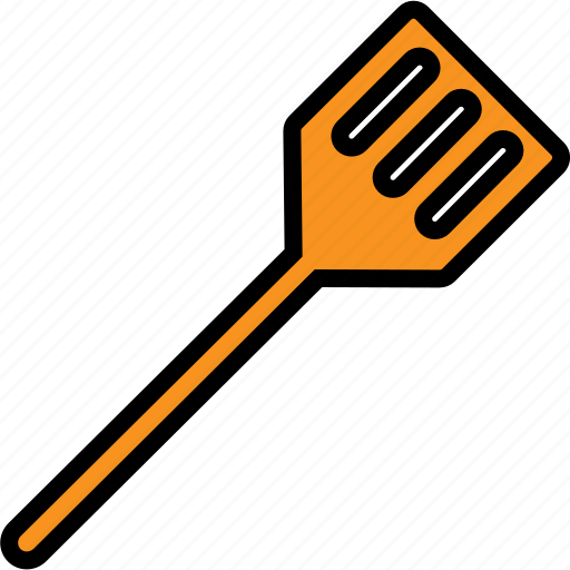 cooking, kitchen, rubber, spatula, tool, turner icon