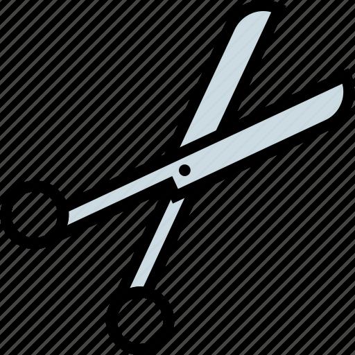 cutting, seser, shear, tool icon