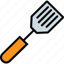 cooking, spatula, spreading, tool, turner icon