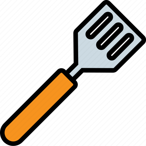 cooking, kitchen, spatula, tool, turner icon