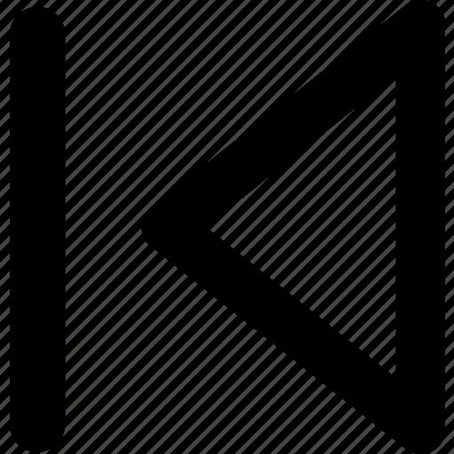 arrows, back, direction, left, navigation, previous, rewind icon