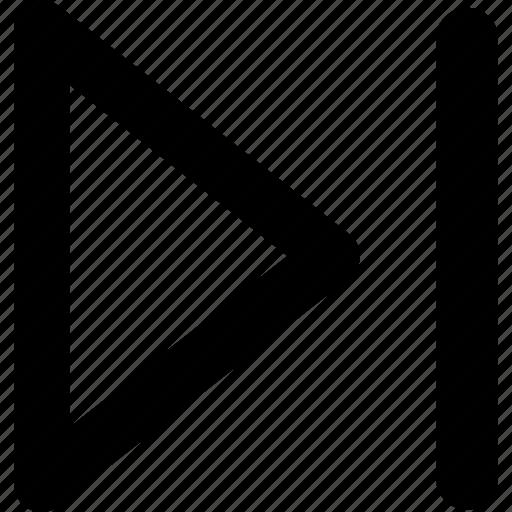 ahead, arrow, arrows, direction, fast forward, navigation, right icon