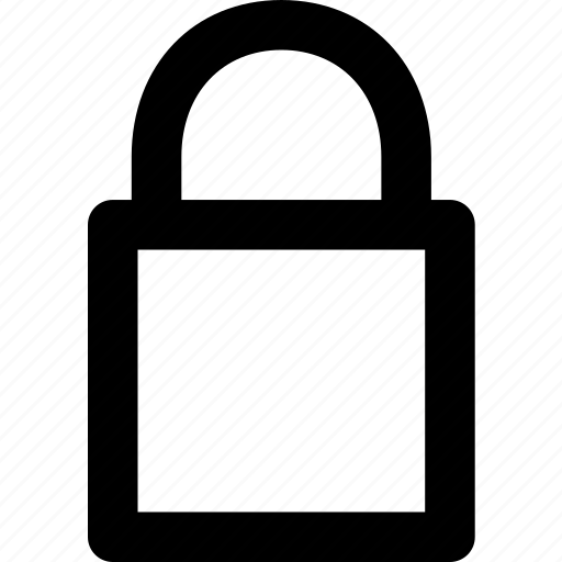 access, lock, locked, password, protection, safe, secure icon