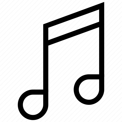music, music note, musical note, note icon