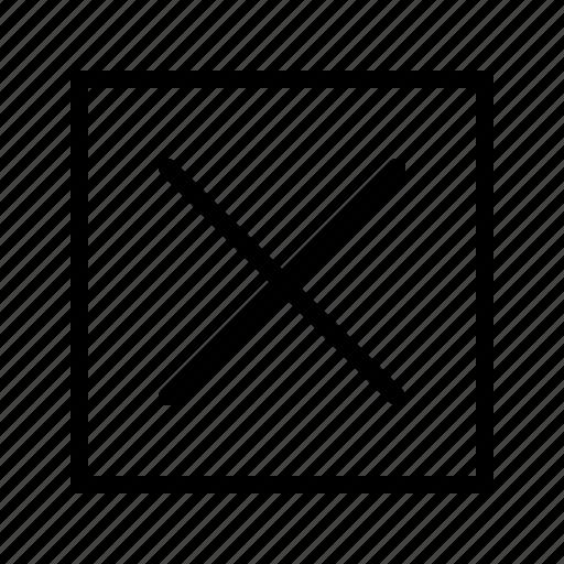Cancel, close, delete, remove, x icon - Download on Iconfinder