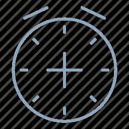 add, alarm, clock, time, timer, watch icon