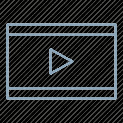 media, video, videos icon