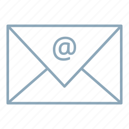 email, letter, mail, mailbox icon
