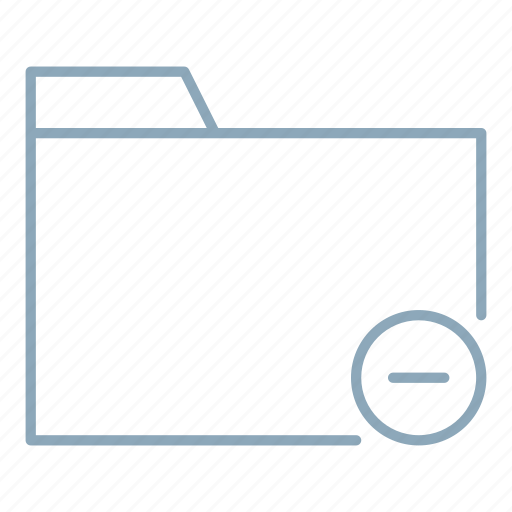 business, delete, documents, folder, office, remove icon