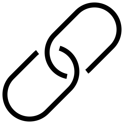 chain, connection, joint, link, relationship icon