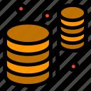 data, databases, information icon