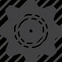 cogwheel, gear, setting, technical