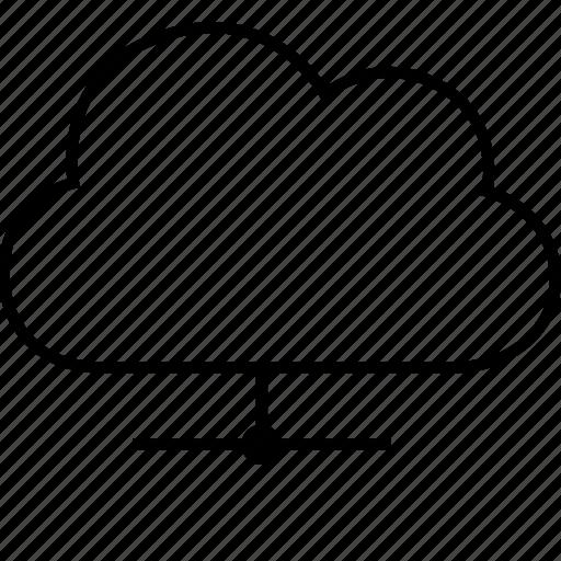 backup, cloud, data, download, guardar, hosting, information, network, save, share, upload icon