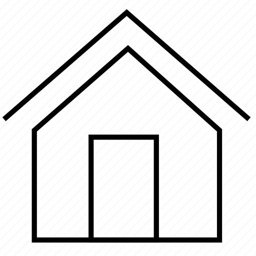 application, building, communication, computer, essential, estate, home, house, pc icon