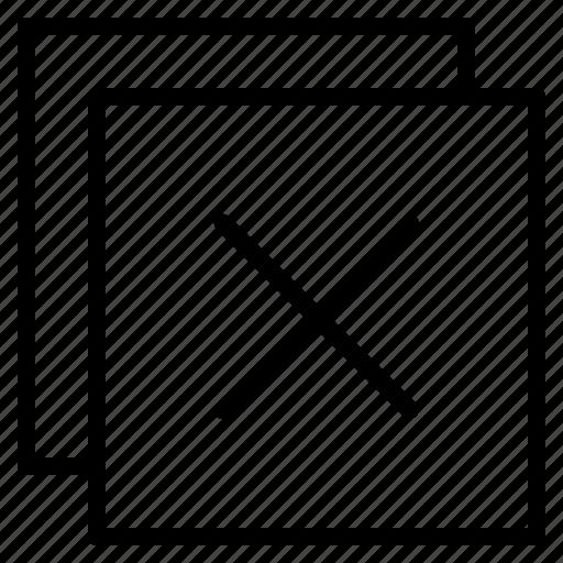 Close, cancel, delete, remove, sign icon - Download on Iconfinder