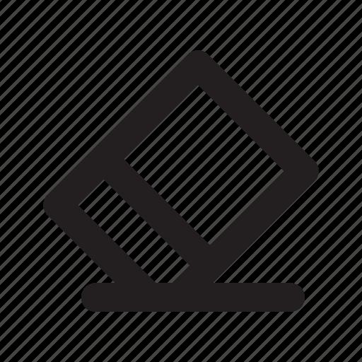 delete, erase, eraser icon