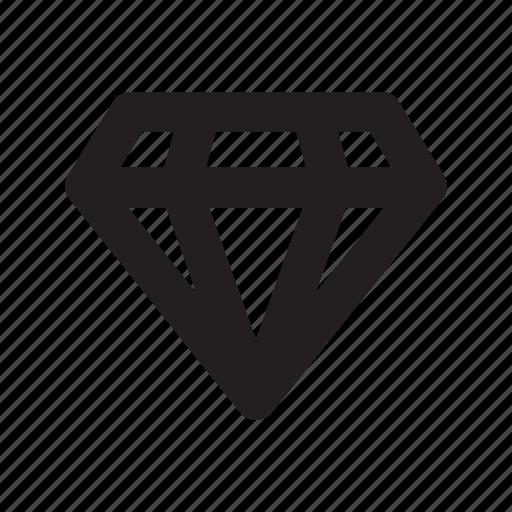 diamond, gem, ruby icon