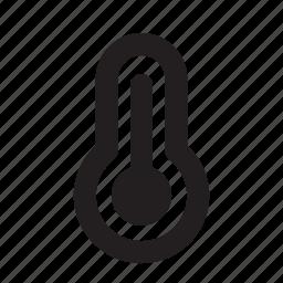 hot, temperature, track icon