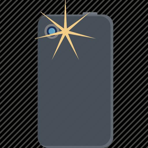 camera, flash, phone, smartphone icon