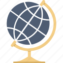 earth, globe, location, world icon