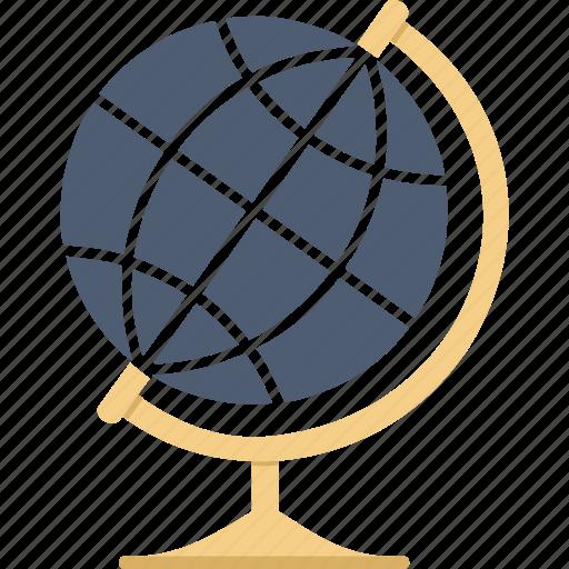 earth, globe, location, world icon