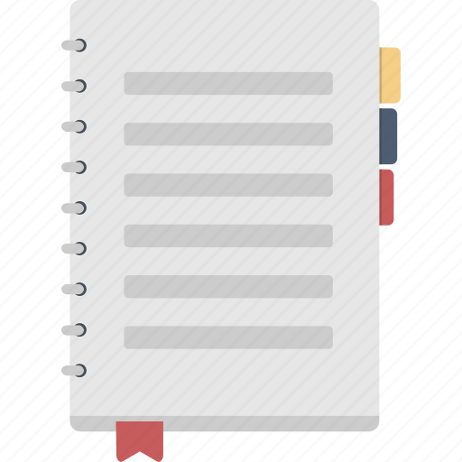 journal, log, notebook icon