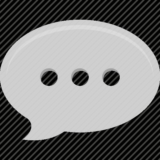 bubble, chat, conversation, speech, talk icon