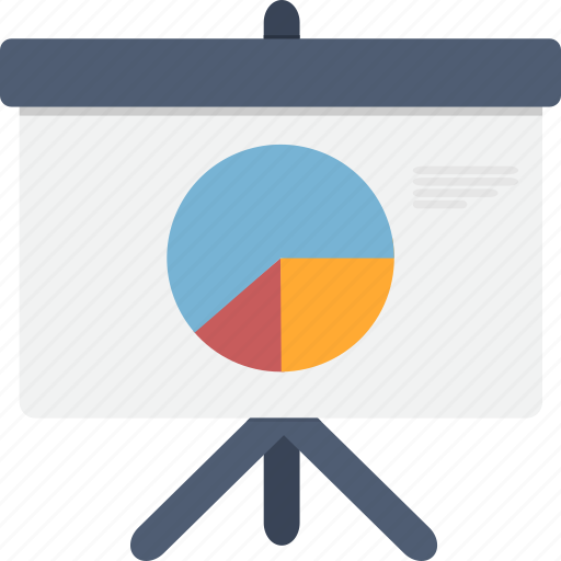 business, chart, diagram, graph, meeting, pie, pie chart icon