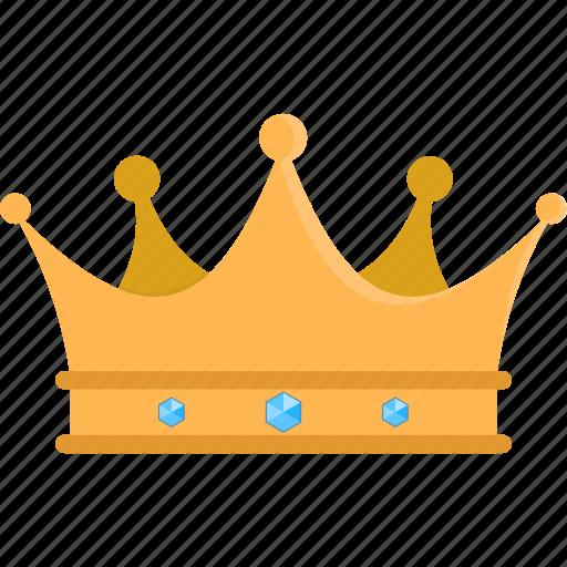 crown, king, queen, winner icon