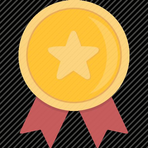 award, gold, medal icon