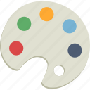 color, palette icon