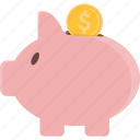 bank, piggy, piggy bank, piggybank, savings icon