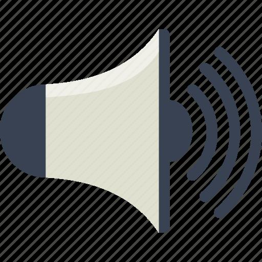 alert, audio, speaker, volume icon