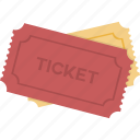 event, movie, ticket, tickets icon