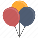 balloons, celebration icon
