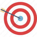 aim, analytics, archery, bullseye, business, goal, target icon
