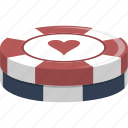 casino, chips, gambling, gaming, poker icon