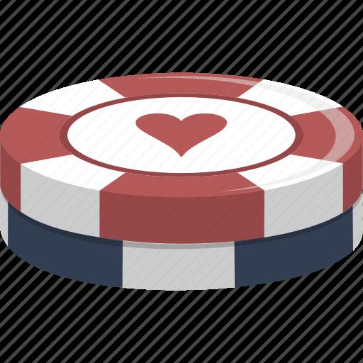 casino, chips, gambling, gaming, poker, poker chips icon
