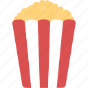 movie, movies, popcorn, snack icon