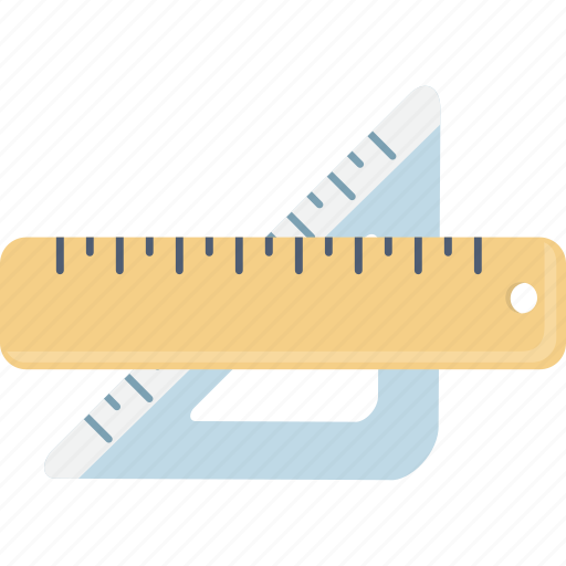 measure, rulers icon