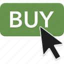 arrow, buy, click, commerce, shop, store icon