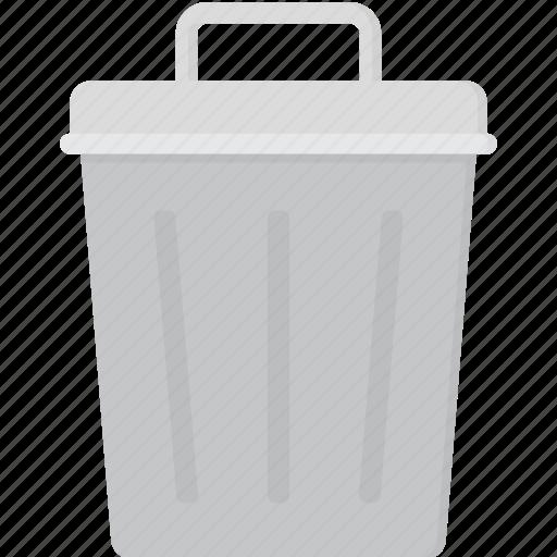 can, garbage, trash, trashcan icon